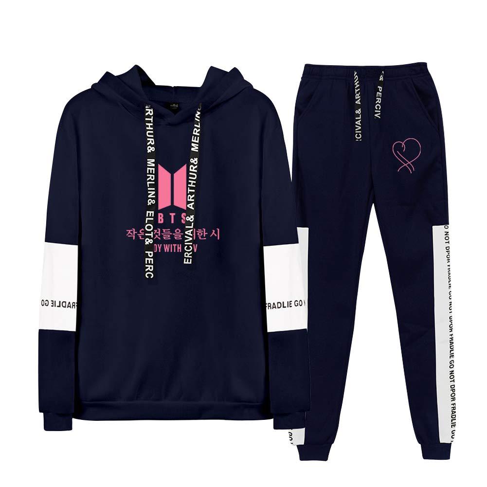 URMOSTIN BTS Boy with LUV Jogging Tracksuit Unisex Women Men Casual Playsuits Sportswear