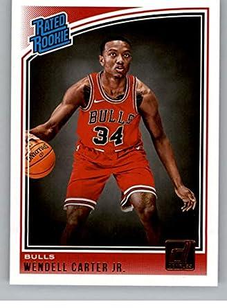 2018-19 Donruss Basketball  170 Wendell Carter Jr. Rated Rookie RC Chicago  Bulls 196c6b362
