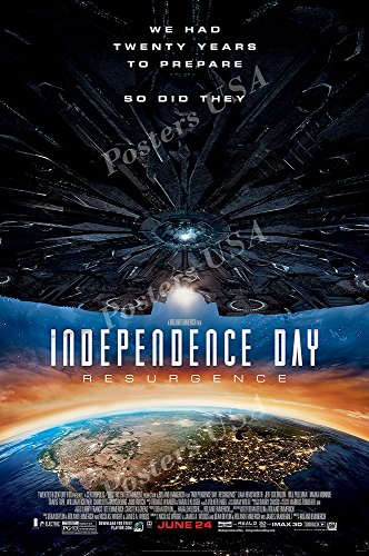 Posters USA Independence Day Resurgence GLOSSY FINISH Movie Poster - FIL442 (24