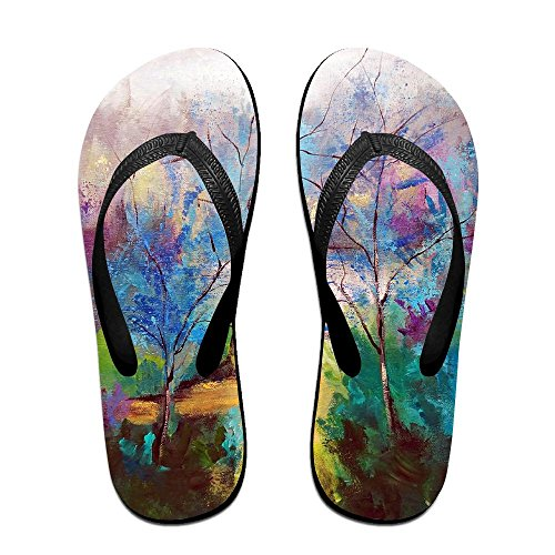 Flip PTJHKET Colorful Flops Men Kids Trees for Black Women Slippers dnxxr0