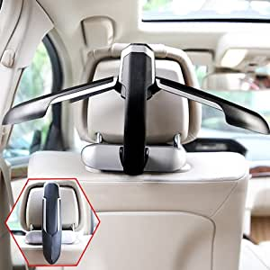 car seat coat rack hanger premium quality clothes holder travel vehicle jacket suit. Black Bedroom Furniture Sets. Home Design Ideas
