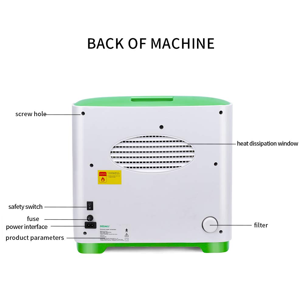 YLST DDT-2A 2-9L//min 30/%-90/% Flow Rate Adjustable Oxy Machine Gen for Home and Travel Use AC 110V Humidifiers