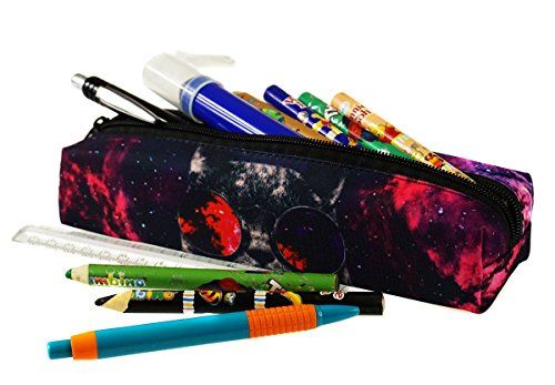 Mäppchen Federtasche Schlamperbox Federmäppchen Schüleretui Stiftemappe Bandana Black [008] Galaxy Sunglasses Cat 4ZEo6enaqE