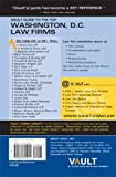 Vault Guide to the Top Washington DC Law Firms, 2007 Edition: 3rd Edition (Vault Career Library)