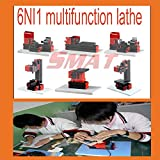 HOT On sale!!! multifunctional tool DIY Mini Lathe Machine 6 in 1 tool Micro Lathe Machine Tool only For Wood and Soft Metal
