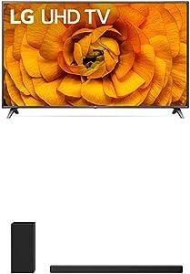 LG 86UN8570PUC Alexa BuiltIn UHD 85 Series 86Inch 4K Smart UHD TV 2020 with LG SN6Y 3.1 Channel 420 Watt High Res Audio Sound Bar with DTS Virtual:X, Black