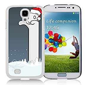 Hot Sell Terrible Samsung S4 TPU Protective Skin Cover Christmas Snowman White Samsung Galaxy S4 i9500 Case 1