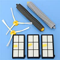 7pcs Filters and Brushes Vacuum Cleaner Accessory Kit for iRobot Roomba 800 900 Series