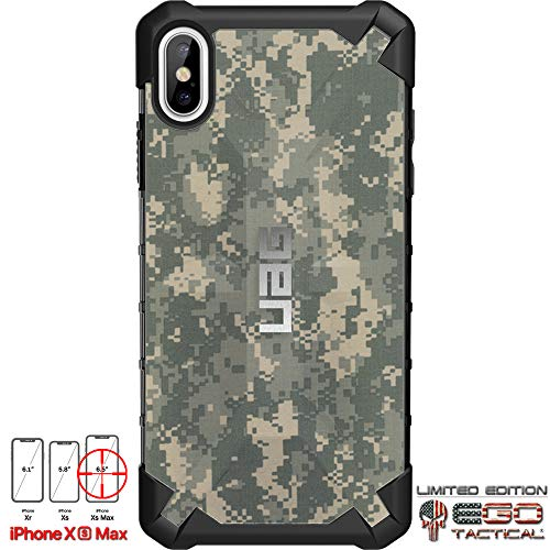 Acu Digital Camouflage Army (Limited Edition Designs by Ego Tactical on a UAG Urban Armor Gear Case for Apple iPhone Xs Max (Larger 6.5