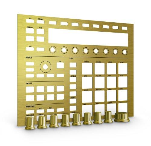Native Instruments Machine MK2 Custom Kit, Solid Gold by Native Instruments