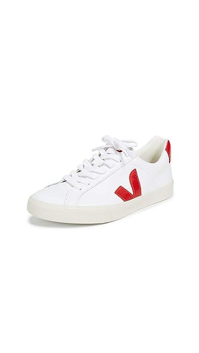 VEJA - EOW021242 - Sneaker DA Donna Modello Esplar Low Logo Leather Extra White Pekin: Amazon.es: Zapatos y complementos