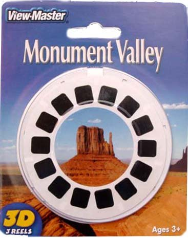 MONUMENT VALLEY - ViewMaster 3 Reel Set by 3Dstereo ViewMaster (Image #1)