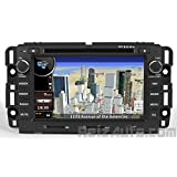 GMC Sierra Acadia Yukon Chevy Silverado Tahoe Avalanche Suburban Traverse Buick Enclave Lucerne In-dash DVD GPS Navigation Stereo Satellite XM Radio Bluetooth Hands-free Deck Music Streaming USB SD MP3 AV Receiver CD Player iPod-Ready OE Fit Deck