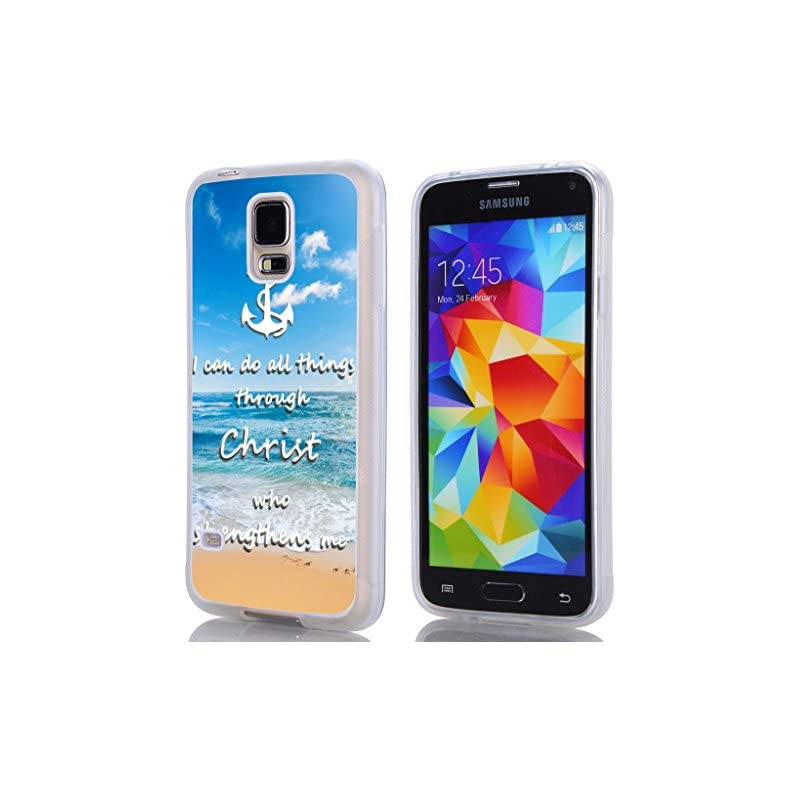 S5 Case Quotes Bible,Hungo TPU Rubber Co