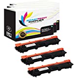 Smart Print Supplies Compatible TN221C TN221M TN221Y Toner Cartridge Replacement for HL-3140CW 3170CDW, MFC-9130CW 9340CDW, DCP-9020CDW Printers (Cyan, Magenta, Yellow) - 3 Pack
