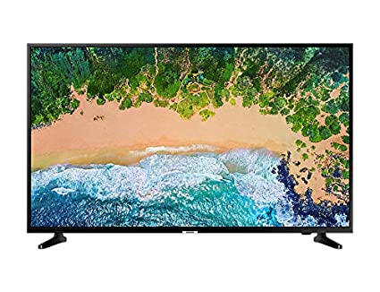 "Samsung UE43NU7090UXZT 43"" 4 K Ultra HD Smart TV Wi-Fi DVB-T2CS2, Serie7 NU7090 [Classe di efficienza energetica A], 3840 x 2160 pixels, 109 Centimeters, Nero"
