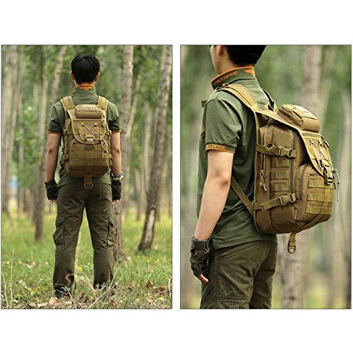 e7b4fd23ed93 Protector Plus Tactical Military Backpack Gear 600D Nylon Sport Outdoor  Assault Pack Rucksack Molle Bag For Hunting Camping Trekking Travel