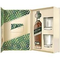 Johnnie Walker Green Label Whisky Gift Pack, 700 ml