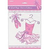 Unique Tutu Ballerina Goodie Bags, 8 Count, MultiColor