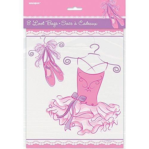 Tutu Ballerina Goodie Bags, 8ct