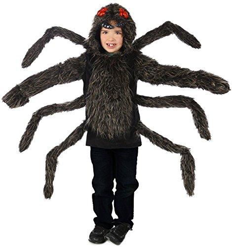 Princess Paradise Baby's Child Tarantula Hoodie, Black, Large/X-Large -