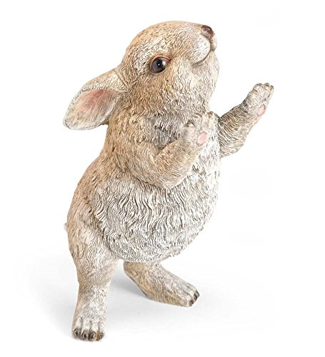 Plow & Hearth Standing Rabbit Garden Statue For Sale