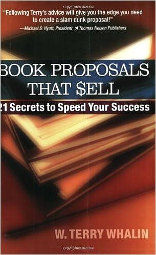 Book proposals