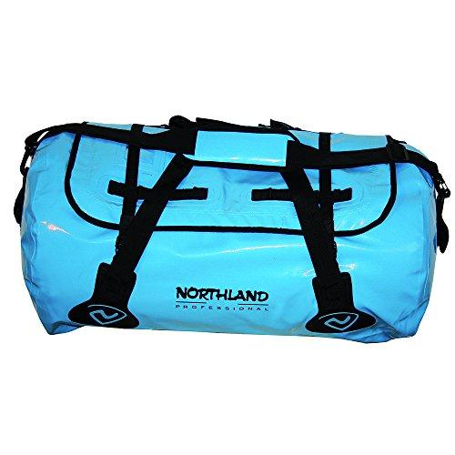Northland Professional, Borsone impermeabile Aquatic Basic, Blu (Blue/Black), 61 x 39 x 34 cm, 60 litri
