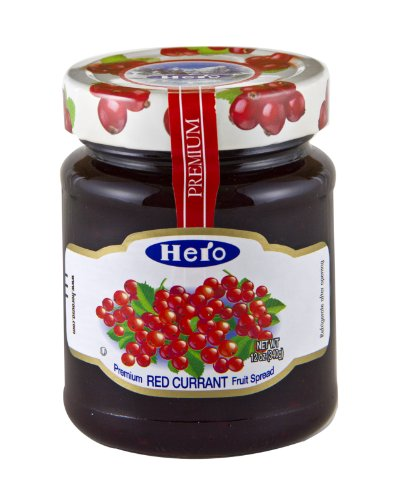 Hero Fruit Spread, Red Currant, 12-Ounce (Pack of 8) (Hero Jelly)