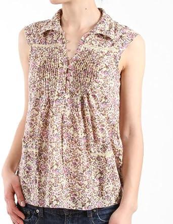 Only Mujer Camisa/Camiseta de Flores, Blow EX Flower SL Top 15058817 Marfil (Cloud Dancer) 38: Amazon.es: Ropa y accesorios