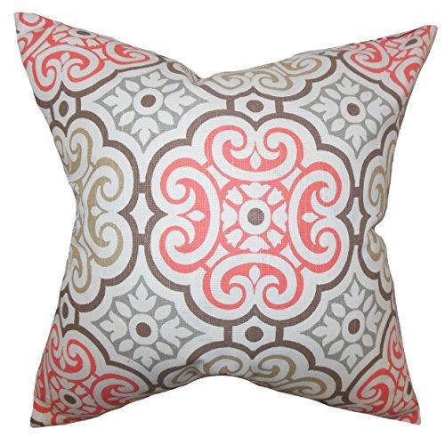 the pillow collection std-pp-nyle-bittersweet-c95-l5amargo dulce Nascha cama geométrico Sham, estándar/20 x 26'