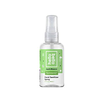 Amazon Com Hello Bello Hand Sanitizer Spray 2oz Pack Of 1 Beauty