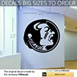 NCAA Wall Mural Vinyl Sticker Sports Logos Florida State Seminoles (S226)