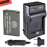 BM Premium NP-BX1 NP-BX1/M8 Battery and Charger for Sony CyberShot DSC-HX80, HDR-AS50, DSC-RX1, DSC-RX1R, DSC-RX1R II, DSC-RX100, DSC-RX100M II, DSC-RX100 III, DSC-RX100 IV, DSC-H300, DSC-H400, DSC-HX300, DSC-HX50V, DSC-HX60V, DSC-HX80V, DSC-HX90V, DSC-WX300, DSC-WX350, HDR-AS10, HDR-AS15, HDR-AS30V, HDR-AS100V, HDR-AS100VR, HDR-AS200V, HDR-AS200VR, HDR-CX240, HDR-CX405, HDR-CX440, HDR-PJ275, HDR-PJ440, HDR-MV1, FDR-X1000V, FDR-X1000VR Digital Camera
