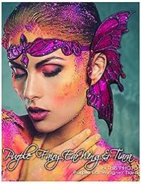 Purple Fairy Ear Wing & Tiara