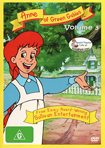 Anne of Green Gables The Animated Series Volume 3 | NON-USA Format | PAL | Region 4 Import - Australia -  DVD, Kevin Sullivan, Emily Hampshire, Bryn McAuley Patricia Gage