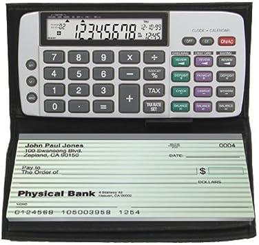 Datexx DB-413 Checkbook Calculator with Date//Time DB413