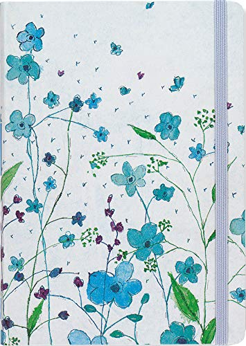 (Blue Flowers Journal (Notebook, Diary) (Small Format Journals))