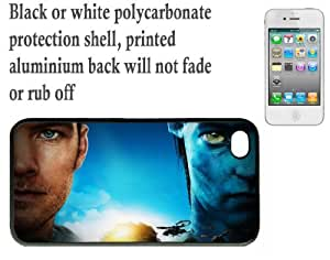 iPhone 4 4S Printed Hard Case With Aluminium Insert Avatar Jake