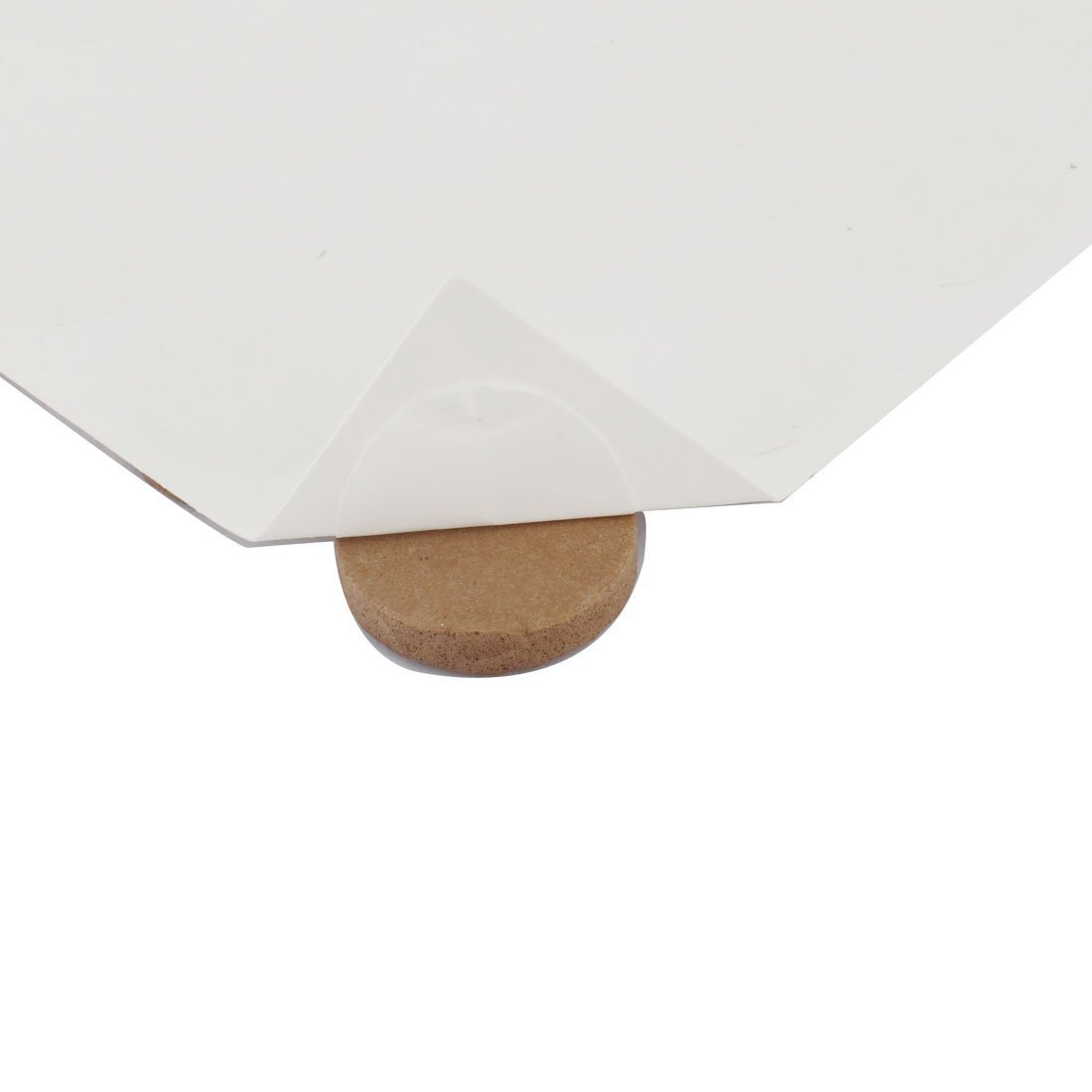 eDealMax EVA Table Ronde Chaise Anti-rayures Meubles Pieds Tapis housses de Coussin 18mm Dia Brown
