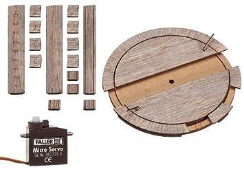 Amazon.com: Ho escala wood-deck Freight coche Tocadiscos W ...