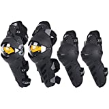 TLMYDD Elbow Pads Knee Pads Motorcycle Protective Gear Locomotive Anti-Fall Riding Knight Equipment Kneepad