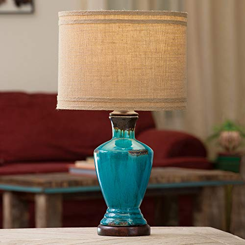 BLACK FOREST DECOR Turquoise River Table Lamp ()