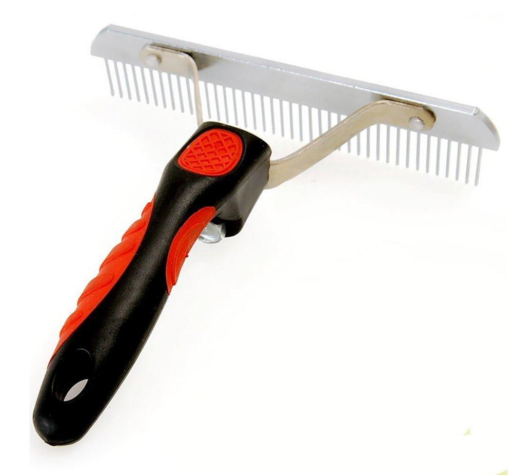 DAN Rake For Dogs,Pet Comb Extra-Large Rake Comb Grooming Brush Deshedding Tool Beauty Comb For Large Pet by DAN (Image #1)