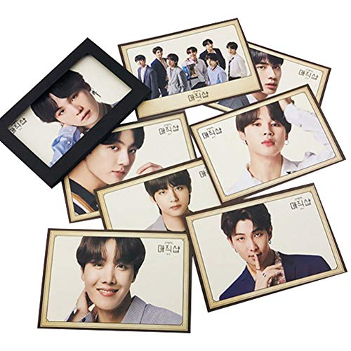 Nuofeng - Kpop BTS Lomo Card Photo Sticker 2019 5TH MUSTER GOODBYE Paper Postcard Set Gift for A.R.M.Y(A-8PCS)