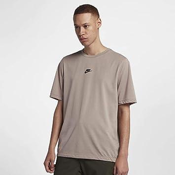 NIKE Sportswear Camiseta, Hombre, diffused Taupe/Black, 4XL/T: Amazon.es: Deportes y aire libre