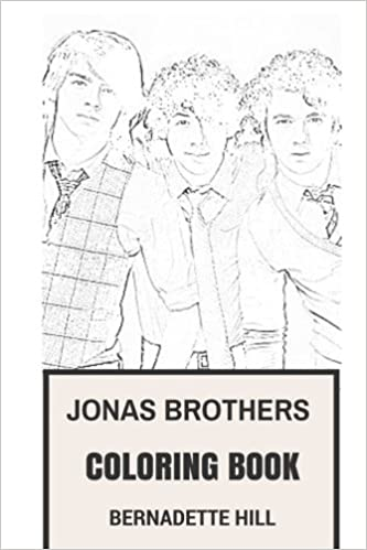 Jonas Brothers Coloring Book Power Pop And American Rock