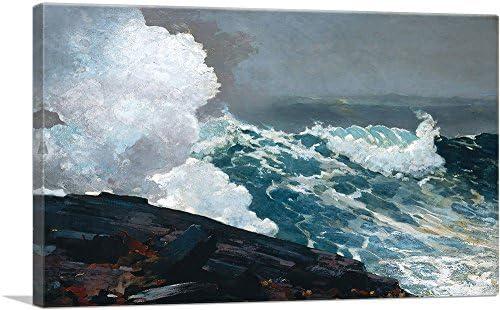 ARTCANVAS Northeaster 1895 Canvas Art Print