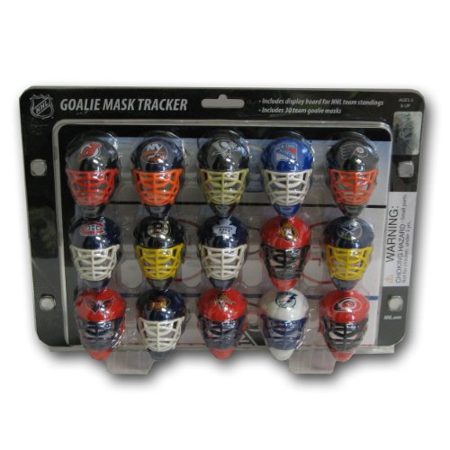 NHL Mini Goalie Mask Tracker/Standings Board ()