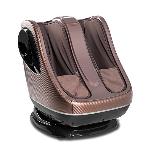 - uKnead Leg Massager - Shiatsu Calf and Foot Rollers, Air Compression and Heat